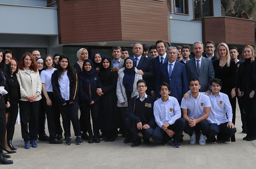 Uluslararası Öğrencilerin Eğitimine Destek Projesi