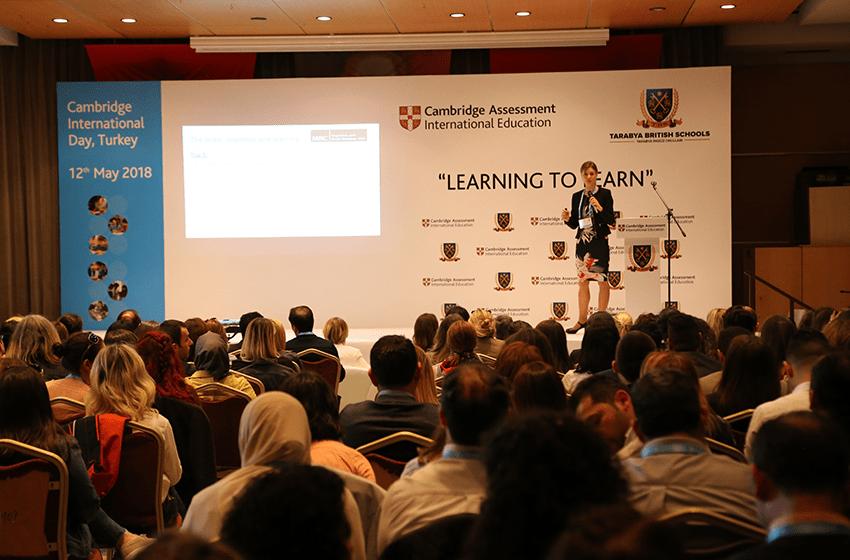 Eğitimciler Cambridge Üniversitesi Konferansı'nda buluştu.